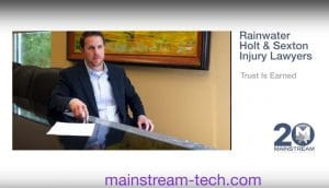 Rainwater, Holt & Sexton Injury Attorneys rely on Mainstream Technologies managed services