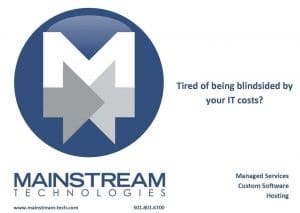 Mainstream Technologies managed network services