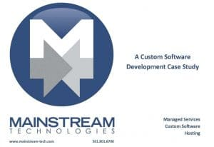 Mainstream Technology software programming services