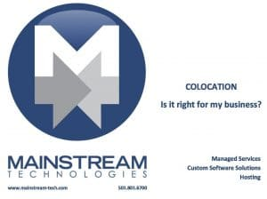 Colocation options for business