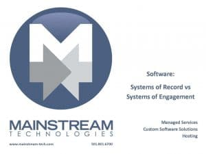 Systems of Record vs Engagement