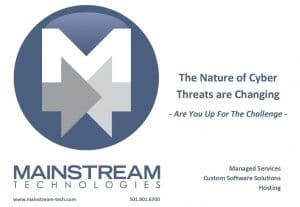 The Nature of Cyber Threats are changing
