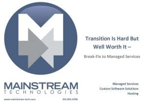Managed Service provides peace of mind